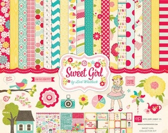 Echo Park Sweet Girl Collection Kit