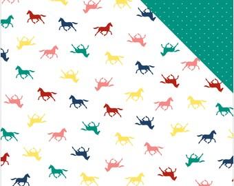 Echo Park Scrapbook Paper - Horses