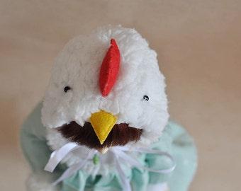 Bjd MSD size chicken hat