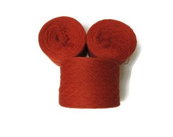 SAFFRON 100% Merino Wool 2700 yards recycled yarn