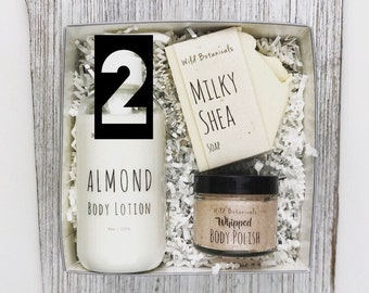 2 Gift Set Boxes, Bridesmaids Gift, Spa Party, Detox, Relax, Christmas Gift, Birthday Gift, Mother's Day