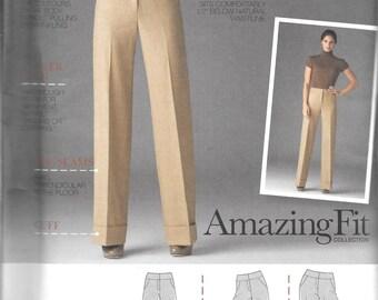 Simplicity AMAZING FIT PANTS Pattern 2562 Miss Sizes 14 16 18 20 22