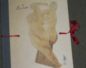 Book of Erotic Sketches , Works by Auguste Rodin , Publisher Prestel , Erotic Sketchbook Series