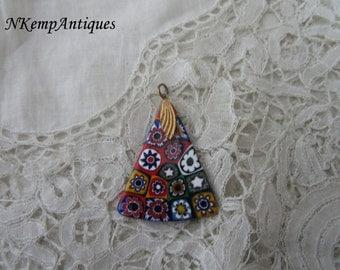 Vintage millefiori pendant