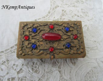Antique trinket box