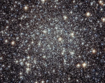 Star Clusters Messier 22, Hubble Telescope Picture, Space Photo
