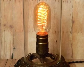 Art nouveau lamp Etsy