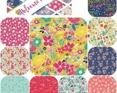 Fat Quarter Bundle (10) ABLOOM FUSION by Art Gallery Fabrics Fat Quarters