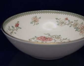"Minton Jasmine 5 1/4"" Fruit/Sauce Bowl Bone China Made in England (3 available) (D)"