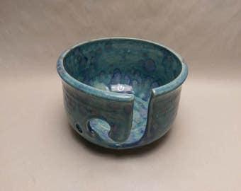 YARN BOWL - Tahiti Grape Standard Cut - Hand Made Ceramic #771
