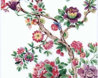 4 Decoupage Napkins | Japanese Garden | Floral Napkins | Nature Napkins | Garden Napkins | Japanese Napkins | Paper Napkins for Decoupage