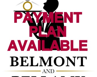PAYMENT PLAN AVAILABLE, Layaway Plan, Just ask.