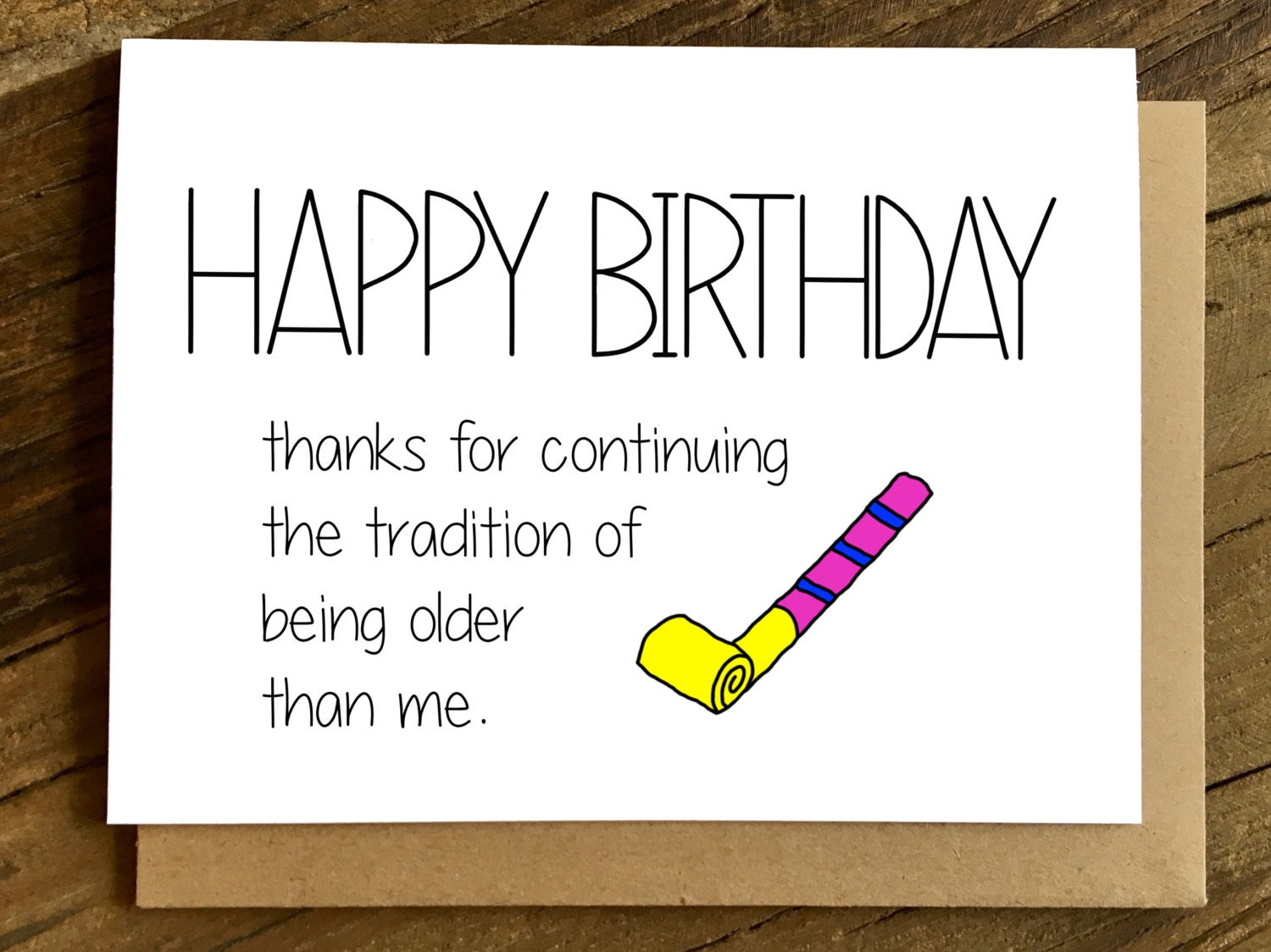 Birthday Cards Brother From Sister ~ Funny birthday card friend