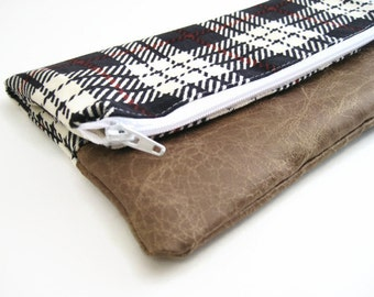 Fold Over Clutch -Small | Clutch Wallet | Clutch Handbag | Foldover Bag| Bridesmaid Gift| Plaid SMALL