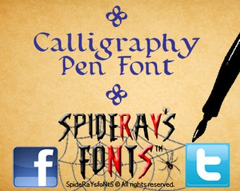 CALLIGRAPHY PEN Commercial Font