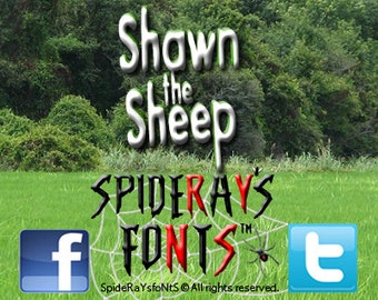 Shawn the Sheep Commercial Font