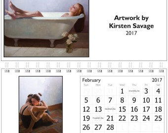 2017 Calendar- Artwork by Kirsten Savage