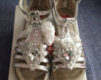 "Girls summer ""RAGG"" sandals leather size 32 EURO"