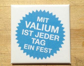 Valium - fridge magnet