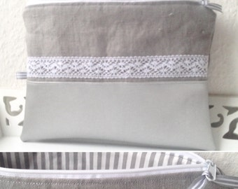 Grey bag, diaper bag, diaper bag