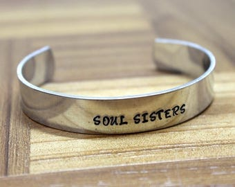 Sister Jewelry / Sister Gift / Sister Present / Sister Birthday / Sister Gift / Soul Sisters / Sister Bracelet
