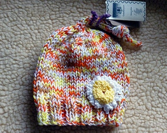 Baby  top knot Beanie hat 15
