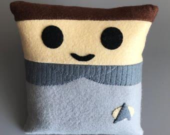 Star Trek Wesley Crusher Mini Felt Cushion