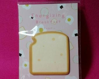 Toast Sticky Note Pad