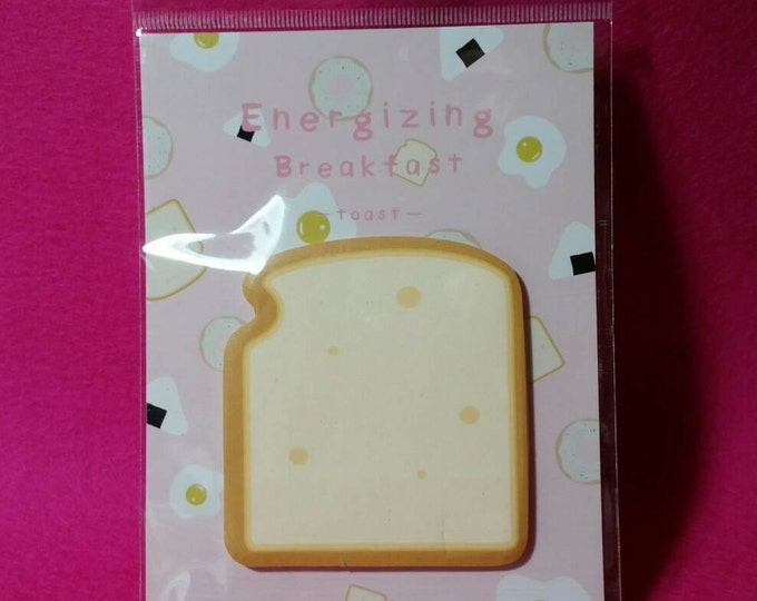 Toast Sticky Note Pad