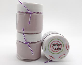 Wild Grape Lip Butter, Lip Balm, Lip Icing 1 oz Jar