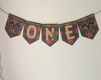 """Lumberjack """"ONE"""" Banner"""