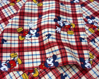 Mickey and Warm Checker