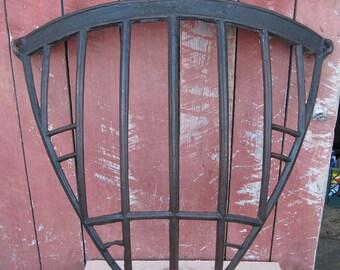 Antique Cast Iron Corner Hay Feeder