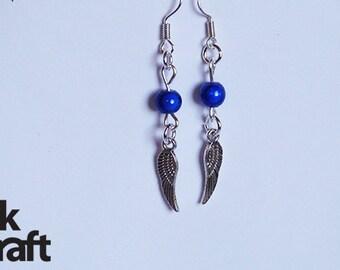 SALE Angel Wing Earrings, wing earring,
