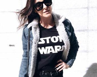 STOP WARS t-shirt, tshirt