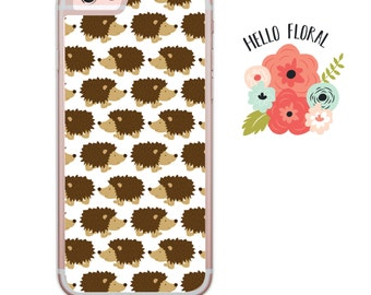 Hedgehog iPhone Samsung Galaxy iPod Touch hard case