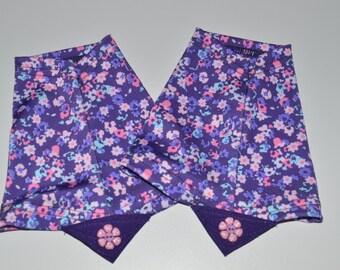 Purple Flowers -  gaiter