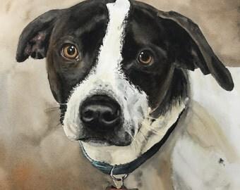 Custom Watercolor Painting - Pets