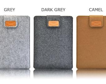 "Wool Felt Laptop Sleeve Case/ Notebook Bag /MacBook Air Pro Retina 15"" Cover"