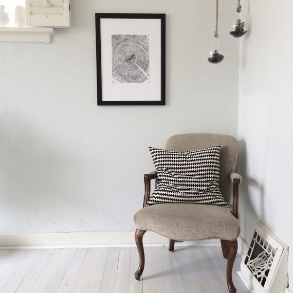 living room art prints. Oak Tree Art Print  Old Original Woodcut botanical tree art ring print living room texture wall