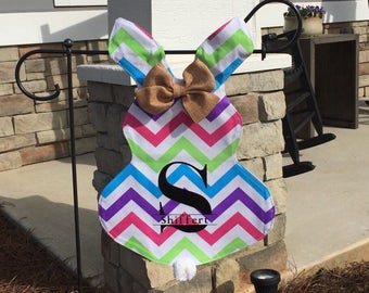 Personalized Easter Flags • Easter Bunny Flag