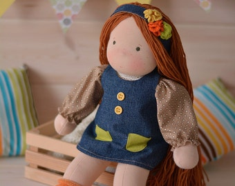 Waldorf doll Karina Ready to ship