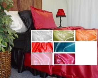 Satin Pillowcase (set of 2 fitted sham)