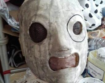 Grungy rock mask