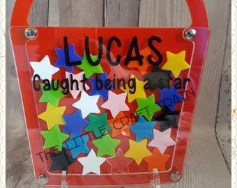 Childrens reward system ' bucket' design