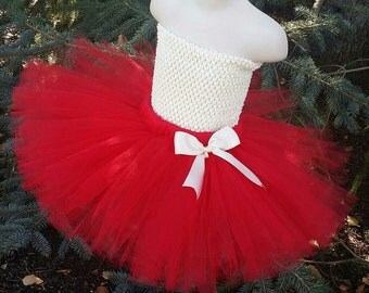 PICK YOUR COLORS! Red Tutu Skirt (Headband Sold Separately) Tutu Skirt Only, Red Adult Tutu, Valentines Day Tutu, Valentines Tutu, VDay Tutu
