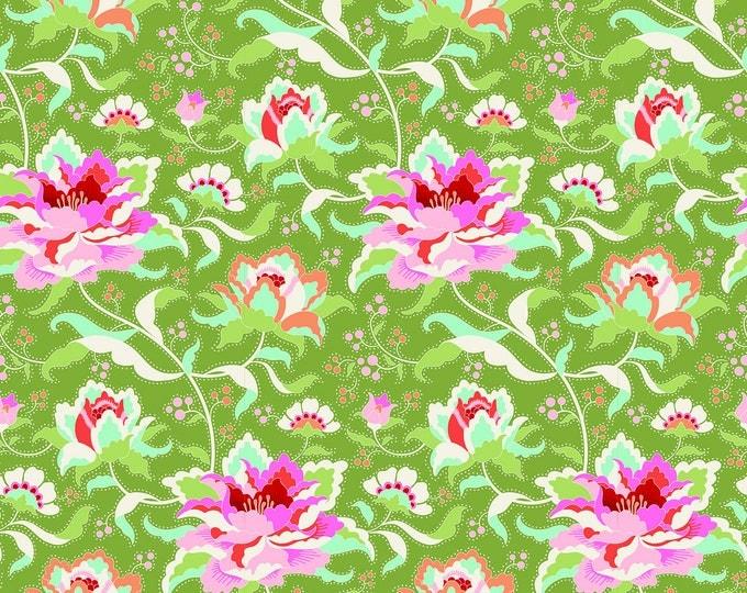 TILDA - CIRCUS Rose Green - 1/2 yard