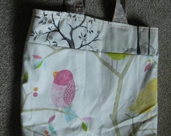 Medium tote bag - birds
