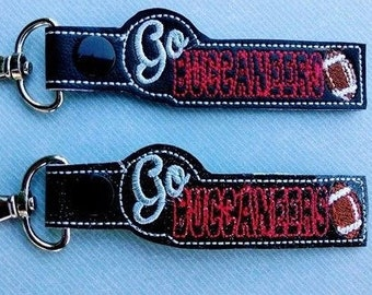 Go Buccaneers - Football - Key Fob In The Hoop - DIGITAL Embroidery DESIGN