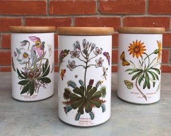 3 Portmeirion botanic garden barrels